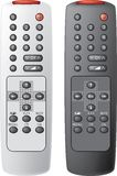 Remote control the TV. Stock Photography