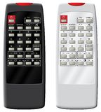 Remote control the TV. Stock Images