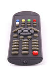 Remote control for TV Clipping path Royalty Free Stock Photography