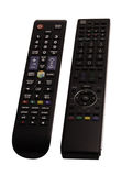 Remote control the TV Royalty Free Stock Photo