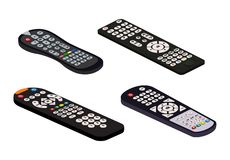 Remote control tv vector remoted controller television channel technology media entertainment equipment digital device. Control-panel to watch video stock illustration