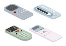 Remote control tv vector remoted controller television channel technology media entertainment equipment digital device. Control-panel to watch video vector illustration