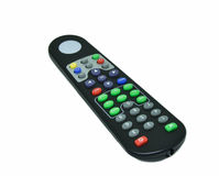 Remote Control TV. On White background Stock Photos