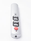 Remote control for TV. On a white background Stock Photos