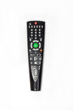Remote control unit. On a white background Royalty Free Stock Photo