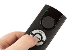 Remote control for vacuum cleaner Royalty Free Stock Images