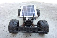 Remote control vehicles, prototypes of solar energy. Solar car Royalty Free Stock Photos