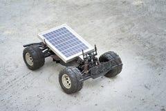 Remote control vehicles, prototypes of solar energy. Solar car Stock Photos