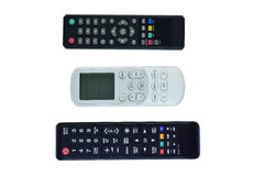 Remote control  on white background Stock Images