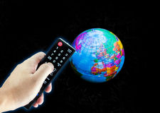 Remote control world Royalty Free Stock Photos