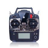 Remote control (RC) for helicopters, drone and airplanes Stock Image