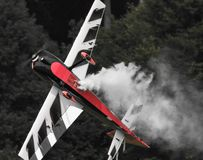 RC Plane Aerobatics royalty free stock image