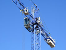 Remote controlled crane Royalty Free Stock Images