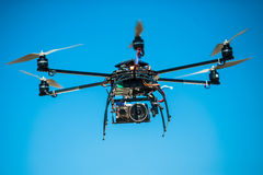 Remote controlled helicopter Royalty Free Stock Photos