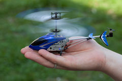 Remote controlled helicopter Stock Photography