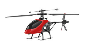 Remote controlled helicopter Stock Image
