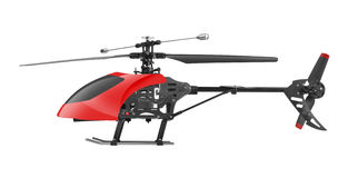 Remote controlled helicopter Royalty Free Stock Images