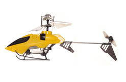 Remote controlled helicopter toy Royalty Free Stock Photos