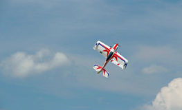 Remote controlled model airplane Berkshires MA Royalty Free Stock Photo