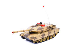 Remote-controlled model tank Stock Image