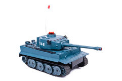 Remote-controlled model tank Royalty Free Stock Photography