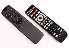Remote controllers Stock Image