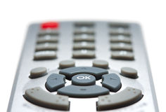 Remote controllers navigation pad Royalty Free Stock Photo