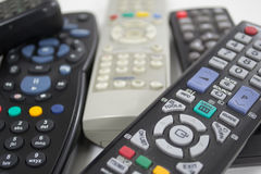 Remote controls Stock Images