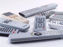 Remote controls. Stock Image
