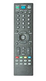 Remote controls. On the white background Stock Image