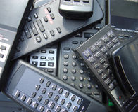 Remote Controls. Remotes Royalty Free Stock Photo