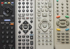 Remote controls for close up Stock Photos