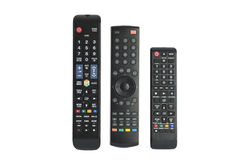 Free Remote Controls On White Background Royalty Free Stock Photography - 60437297