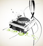 Remote dj Royalty Free Stock Photos