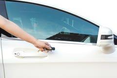 remote för bilkontrollpush Fotografering för Bildbyråer