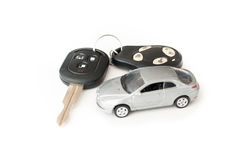 remote för bilkontrolltangent Arkivbilder