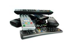 remote för kontrollapparater mycket Royaltyfri Foto