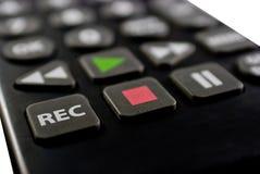remote för tät kontroll upp fotografering för bildbyråer