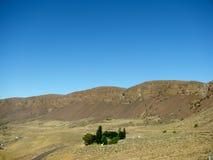 Remote farm in Grant County, Washington State. Stock Photo