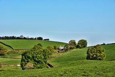 Remote farmhouse in English countryside Royalty Free Stock Photography