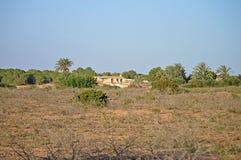 A Remote Farmhouse stock photography