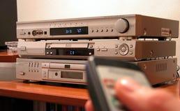 remote för 2 förstärkare Royaltyfri Fotografi