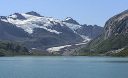 Remote Glacier in the Alaskan Wilds Stock Photo