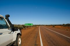 Remote Highway Stock Photography