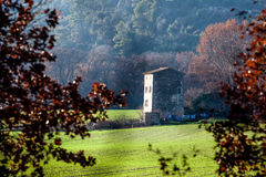 Remote house in Provence, France Royalty Free Stock Images