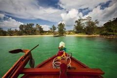 Remote Island. A remote island in Cambodia Stock Image