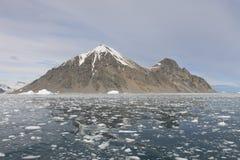 Remote Island in Antarctica Royalty Free Stock Photos