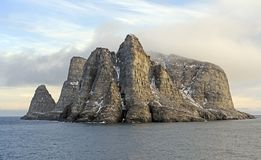 Remote Island in the High Arctic Royalty Free Stock Photos