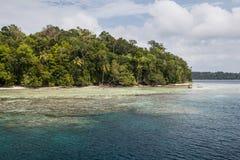 Remote Island in the Solomon Islands Stock Photos