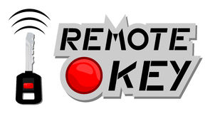 Remote key Stock Image